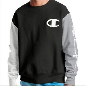 Champion Men's Logo Script Sweatshirt